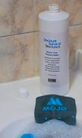 Solución lavar de medias compresivas