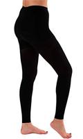 Leggings compresivos talla grande negros