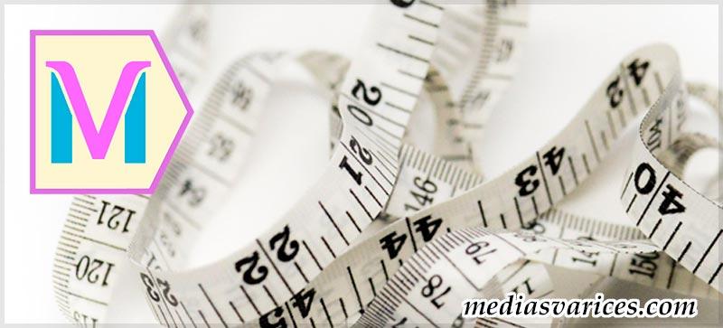 Medir talla medias