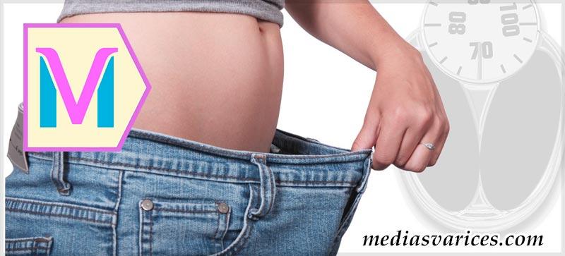 medias para obesos
